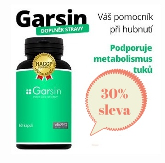 Garsin - Váš pomocník při hubnutí!